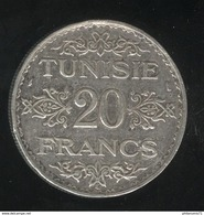 20 Francs Tunisie 1934 - Protectorat Français - TTB+ - Tunisie