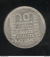 10 Francs Turin 1934 TTB+ - France
