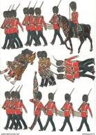 Lot De Découpis Soldats Anglais - Other