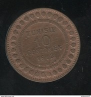 10 Centimes Tunisie 1912 A - TTB+ - Tunisie