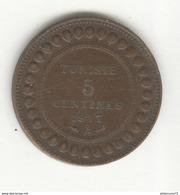 5 Centimes Tunisie 1917 A - TTB+ - Tunisia