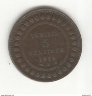 5 Centimes Tunisie 1914 A - TTB+ - Tunisia