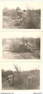 3 Photos AFN Appelé à L'entrainement - Format 9 X 13 Cm - Guerre, Militaire