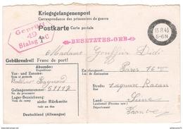 Courrier De Prisonnier Français En Allemagne - 1943 - Stalag V C - Dokumente