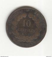 10 Centimes France 1881 A  - TTB - France