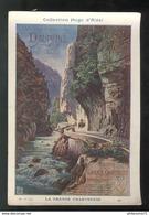 Publicité Format CPA Collection Hugo D'Alési - Dauphiné - Route De La Grande Chartreuse - Illustrators & Photographers