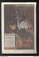 Publicité Format CPA Collection Hugo D'Alési - Gouffre Padirac - Other Illustrators