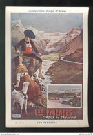 Publicité Format CPA Collection Hugo D'Alési - Les Pyrénées - Other Illustrators