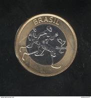 1 Réal Brésil / Brazil - CC Rio - 2015 - Para Athletisme - Bi-métallique / Bimetalic UNC - Brésil