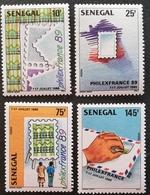 "Senegal  1989 PHILAXFRANCE""89 - Senegal (1960-...)"