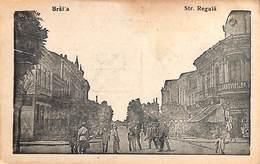 Romania - Braila - Str Regala (animation, Edit T. Manea & P Stanescu) - Roumanie
