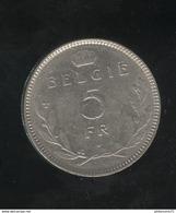 5 Francs Belgique 1936 - Belgie - 1934-1945: Leopold III