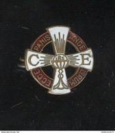 Badge Eucharistie - Ecce Panis Angelorum - Emaillé - Très Bon état - Religion &  Esoterik
