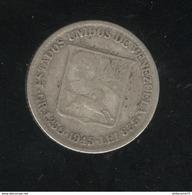 1/4 Bolivar Venezuela 1945 TTB - Venezuela