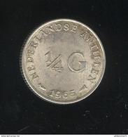 1/4 Gulden Antilles Néerlandaises / Nederland Antillen 1965 TTB - Antilles Neérlandaises