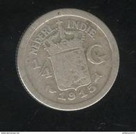 1/4 Gulden Indes Néerlandaises / Nederland Indies - 1915 - TB - Inde