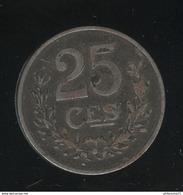 25 Centimes Luxembourg / Luxemburg 1919 TTB - Luxembourg
