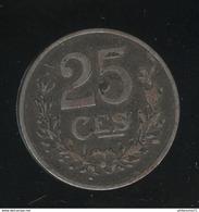 25 Centimes Luxembourg / Luxemburg 1919 TTB - Lussemburgo