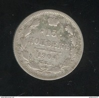 15 Kopecks Russie 1904 TTB - Rusland