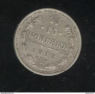 15 Kopecks Russie 1912 TTB+ - Russie