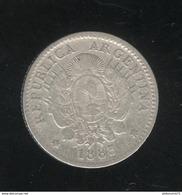 10 Centesimos Argentine / Argentina 1883 TTB - Argentinië