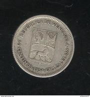 1 Bolivar Venezuela 1954 TB ( 2 ) - Venezuela