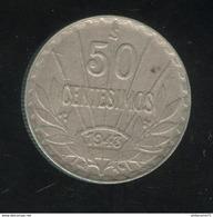 50 Centesimos 1943 Uruguay TTB+ ( 2 ) - Uruguay
