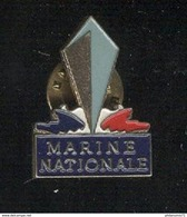 Pin's Marine Nationale - Bateaux