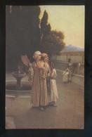 *R. Ernst - Rêverie Du Soir à La Corne D'Or* Salon De Paris Nº 566. Ed. Lapina. Nueva. - Pintura & Cuadros