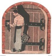 Publicité Et Tarif De Vins De Bourgogne - H Malvoisin - Chateau De Couronné - Macon 1934 - Publicité