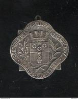 Badge Concours De Gymnastique 1927 Chalon Sur Saône - Army & War