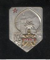 Insigne RACM - Régiment D'Artillerie Coloniale Marocains - Drago Paris Embouti - Très Bon état - Armée De Terre