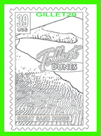 TIMBRES REPRÉSENTATIONS - CHILDRENS COLORING POST CARDS - TALLEST DUNES, GREAT SAND DUNES, SAN LUIS VALLEY, CO - - Timbres (représentations)