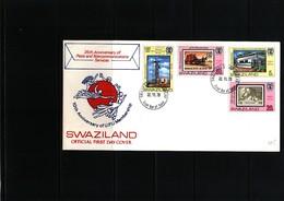 Swaziland 1975 International Women's Year FDC - Swaziland (1968-...)