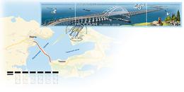2018-2403 FDC Canc Moscow Russia Architecture:Bridges.Cr.Bridge.Birds,Fauna:cat.Transport:cars,train,ships Mi 2620 - 1992-.... Föderation