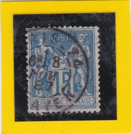N° 90a  TYPE IIc  état 1   + CACHET A DATE  PARIS 74   - REF 24-24 - 1876-1898 Sage (Type II)