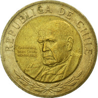 Monnaie, Chile, 500 Pesos, 2003, Santiago, TTB, Bi-Metallic, KM:235 - Chili