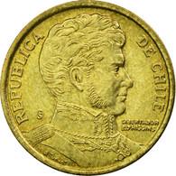 Monnaie, Chile, 10 Pesos, 2008, Santiago, TTB, Aluminum-Bronze, KM:228.2 - Chili
