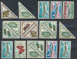 °°° REPUBBLICA CENTROAFRICANA CENTRAFRICAINE MNH - 1962 °°° - Repubblica Centroafricana