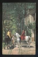 *J. L: Ernest Meissonier - Das Gasthaus Am Wege* Ed. Stengel Nº 29265. Nueva. - Pintura & Cuadros