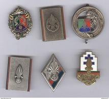 Lot De 6 Insignes Légion Etrangère - Divers Fabricants - Autres