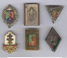 Lot De 6 Insignes Légion Etrangère - Fabricant Drago - Autres