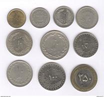 Lot De 10 Monnaies Iran - Iran