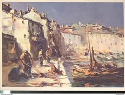 CPSM Illustrée Edition Yvon - Bastia - Le Vieux Port - Other Illustrators