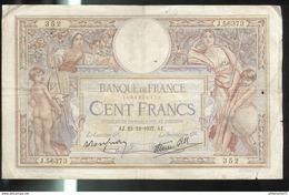 100 Francs 23/12/1937 - 1871-1952 Anciens Francs Circulés Au XXème