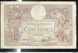 Billet 100 Francs France Merson 23-12-1937 - 1871-1952 Anciens Francs Circulés Au XXème