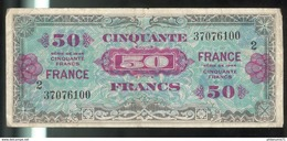 Billet 50 Francs France Libération 1944 - 1871-1952 Anciens Francs Circulés Au XXème