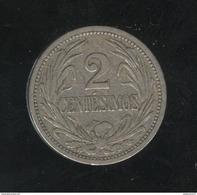 2 Centesimos Uruguay 1909 TTB+ - Dominicana
