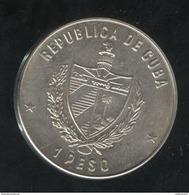 1 Peso Cuba 1981 - Commemo XIVème Jeux Centre-Américain Et Des Caraïbes - SUP - Cuba