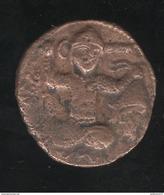 Dirhem 596 AH Mardin Coupeur De Tête - Dynastie Des Artukides 580-597 ( 1184-1200 ) - Monnaies